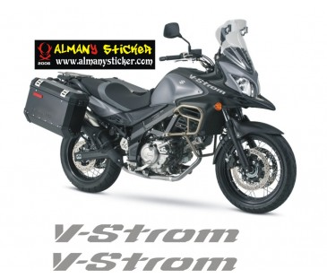 Suzuki V-Strom  Sticker Set