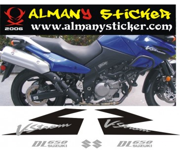Suzuki V-Strom Dl 650 Sticker Set-2
