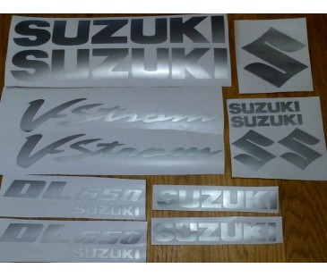 Suzuki V-Strom Dl 650 Sticker Set