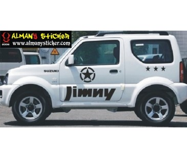 Suzuki jimny sticker set