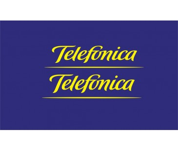 Telefonica Sticker set