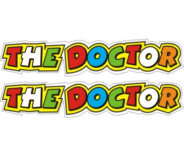 The Doctor sticker,motosiklet sticker