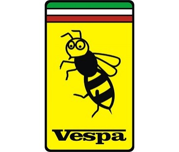 Vespa Arı Sticker