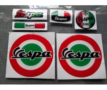 Vespa damla sticker-1,vespa sticker,motosiklet sticker