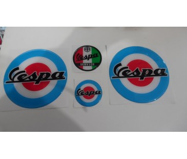 Vespa damla sticker set