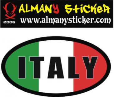 Vespa italy sticker