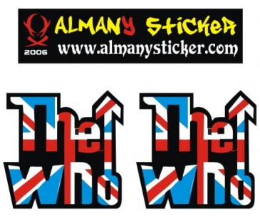 Vespa the who sticker