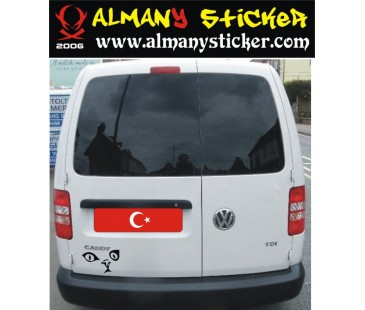 Volkswagen Caddy Sticker-6