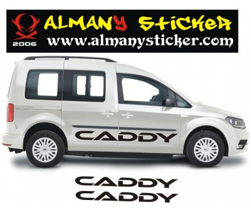 Volkswagen caddy sticker-1