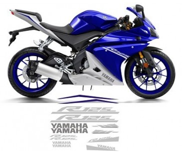 YAMAHA R125 STİCKER SET