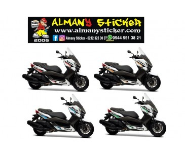YAMAHA XMAX STİCKER SET-14