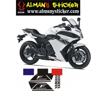 Yamaha Diversion F Sticker Set