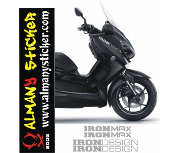 Yamaha Ironmax,iron design sticker set