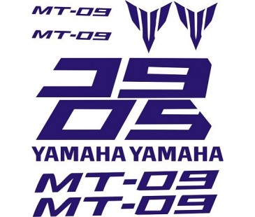 Yamaha Mt09 sticker set,mt09 sticker,motosiklet sticker