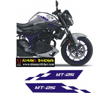 Yamaha Mt25 Sticker Set,Yamaha Sticker,Motosiklet Sticker