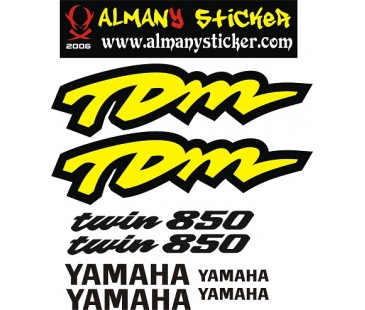 Yamaha Tdm 850 Sticker Set