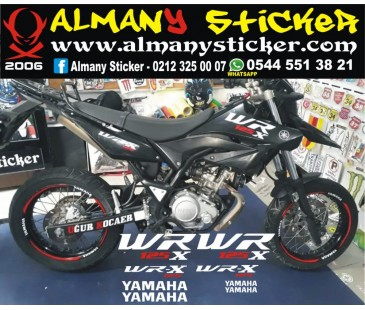 Yamaha Wr125x sticker set