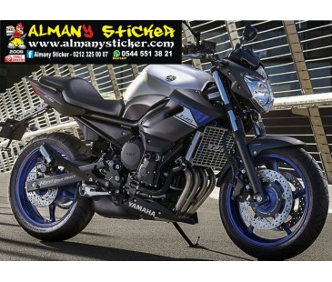 Yamaha Xj6 Sticker Set