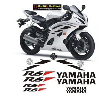 Yamaha Yzf R6 Sticker Set