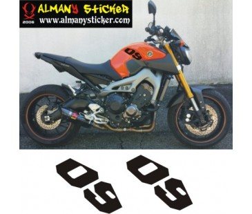 Yamaha mt09 sticker