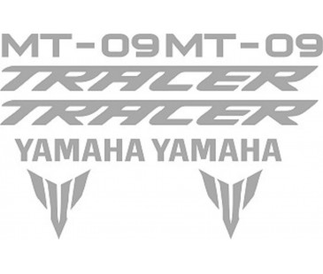 Yamaha mt09 tracer sticker set..,motosiklet sticker