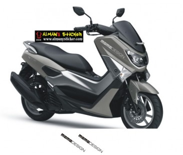 Yamaha nmax momo design sticker
