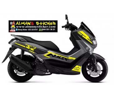 Yamaha nmax sticker set-22,nmax sticker,yazı,etiket