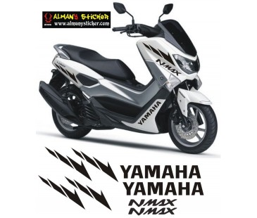 Yamaha nmax sticker set,nmax sticker,yazı,etiket-2