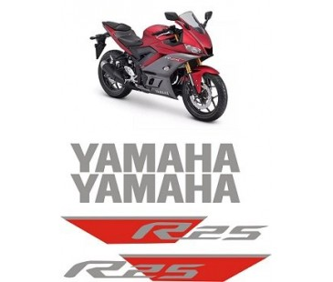 Yamaha r25 sticker set-2322