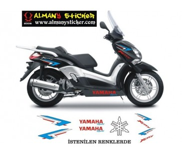 Yamaha xcity sticker set-6