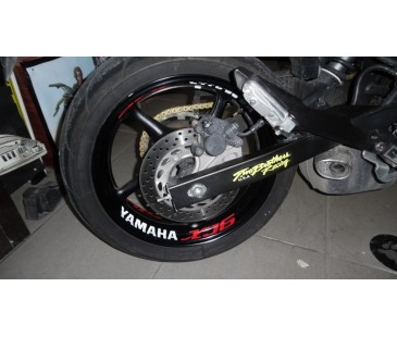 Yamaha xj6 jant içi sticker set