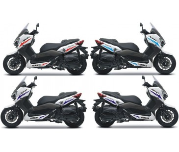 Yamaha xmax şerit sticker set