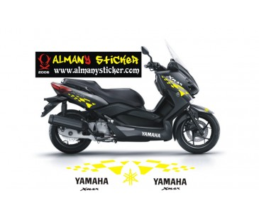 Yamaha xmax sticker set-2
