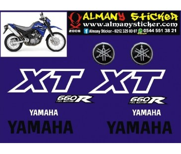 Yamaha xt660r sticker set