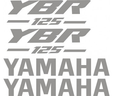Yamaha ybr 125 sticker set