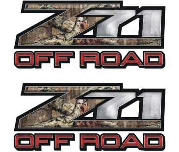 Z71 Off Road Sticker