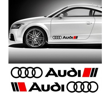Audi sticker set,oto sticker,