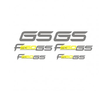Bmw F650 Sticker Set