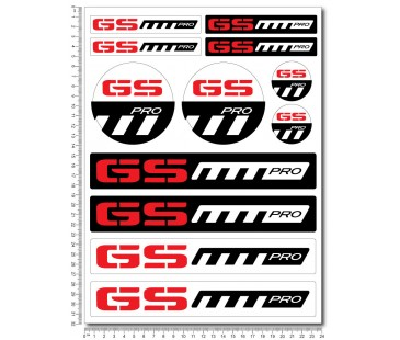 bmw gs enduro sticker set-2