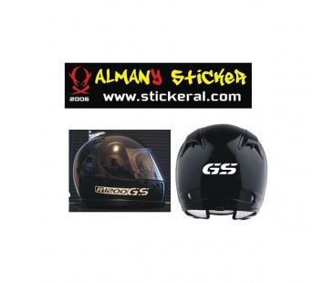 Bmw Gs Kask Sticker Set