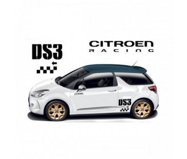 Citroen Ds3 Sticker Set