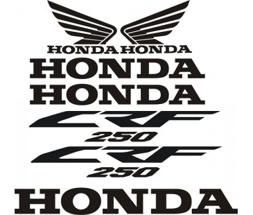 Honda crf250 sticker set,honda sticker,motosiklet sticker