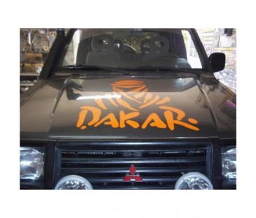 Dakar Jeep Sticker