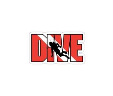 Dive Dalgıç Sticker