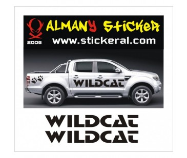 Ford Ranger Wildcat Sticker