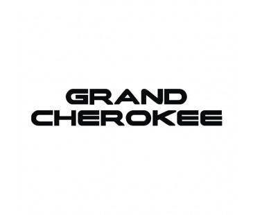 Grand Cherokee Sticker,jeep Sticker