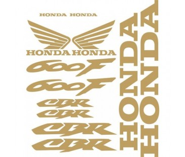 Honda 600f Sticker Set