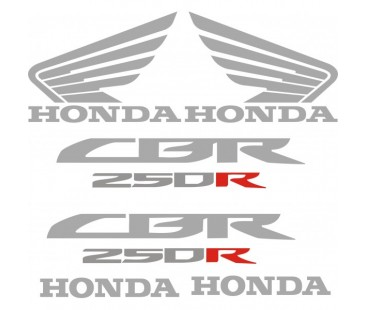Honda Cbr 250R Sticker Set