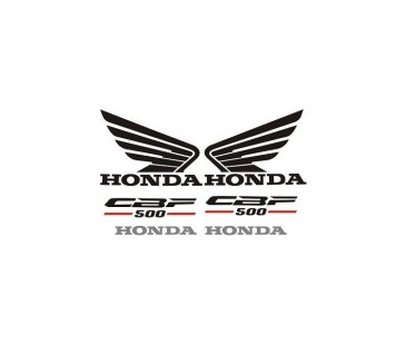 Honda Cbf 500 Sticker Set