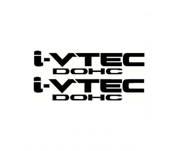 Honda i-Vtec Sticker Set